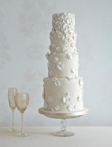 Wedding cake designed by Zoe Clark