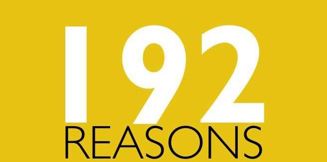 192 reasons