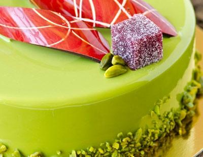 Pregel. New Evolution Glazes for coating cakes, mousses, ..