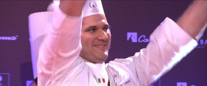 Davide Comaschi is crowned the Emperor of Chocolate