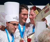 UK team won the Europe Pastry Cup