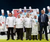 Europe Pastry Cup's podium