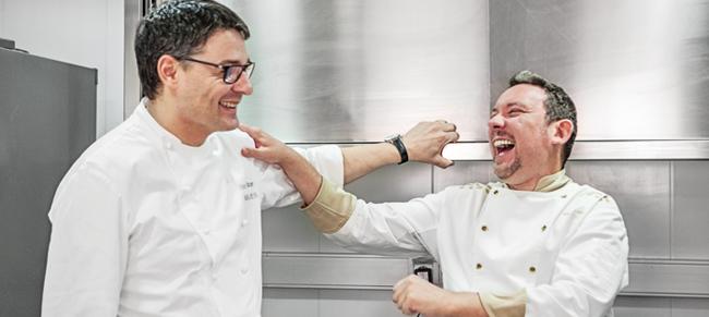 Oriol Balaguer and Albert Adrià