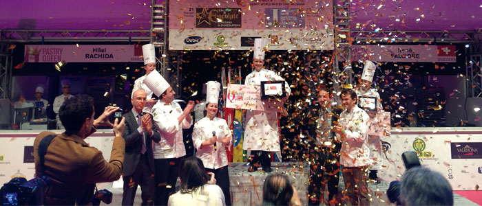 The North American, Cher Harris, is crowned the Pastry Queen