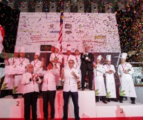 Asian Pastry Cup Podium