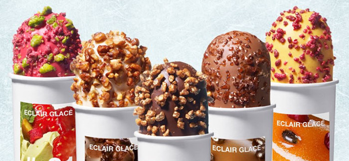 The New Collection of Christophe Adam has arrived – Ice Cream Eclairs