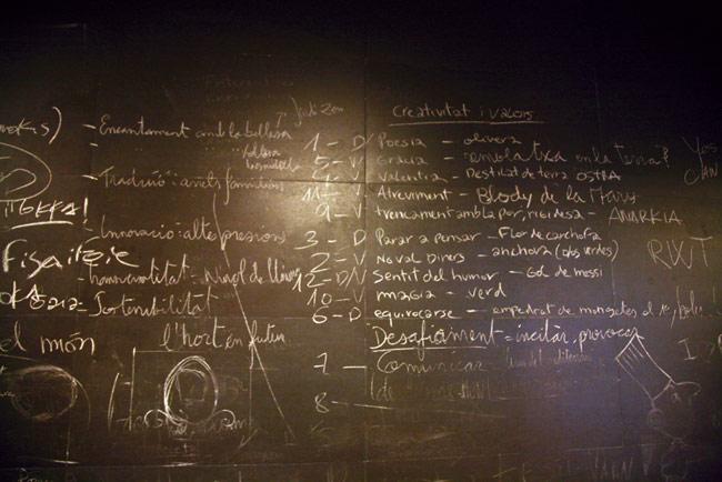 Blackboard, Jordi Roca