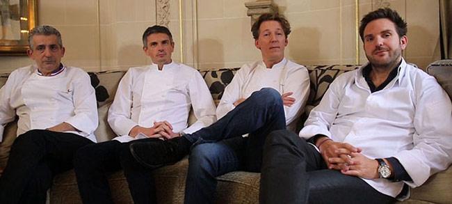 """Qui será le prochain grand pâtissier?"" jury"