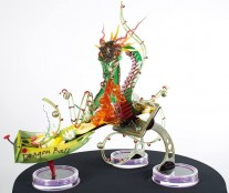 Best showpiece, an homage to Dragon Ball.