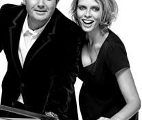 Jean François Piège and Sylvie Tellier