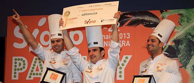 Pastry Cooking at Sigep 2015… a truly Italian affair