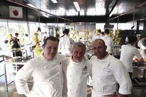 Paco Torreblanca, Jacob Torreblanca and Emmanuele Forcone