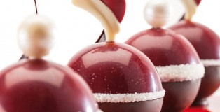 Chocolate Christmas Balls by Michel Willaume