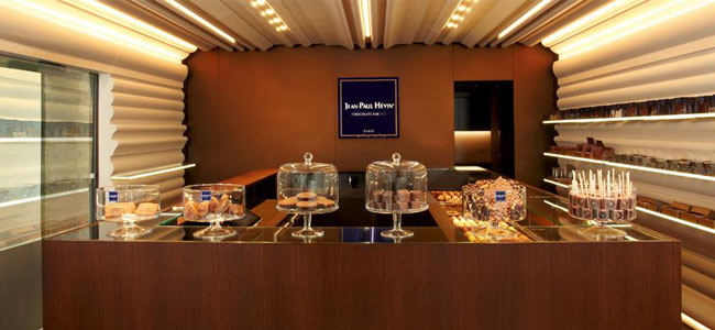 New Jean-Paul Hévin chocolate bar in Paris