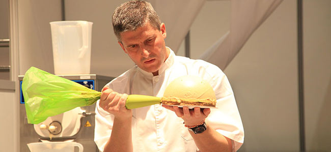 Philippe Faur wins the Open des Desserts Glacés