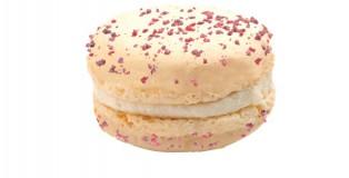 Macaron strawberry-jasmin Christophe Roussel