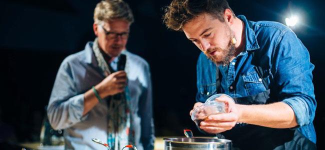 24 pastry chefs in the Scène Sucré of Omnivore 2015
