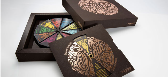 Virgin fiber: vegetable packaging for chocolate
