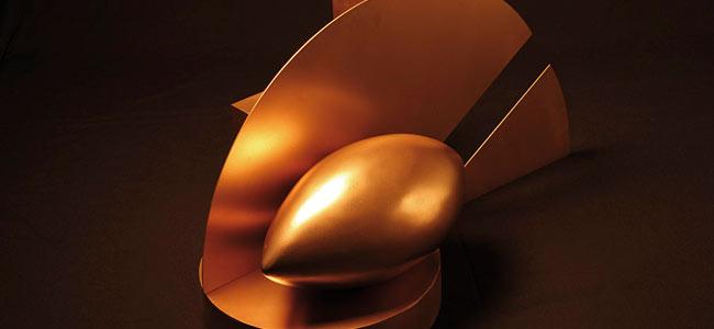 Escultura bronce Gabriele Riva