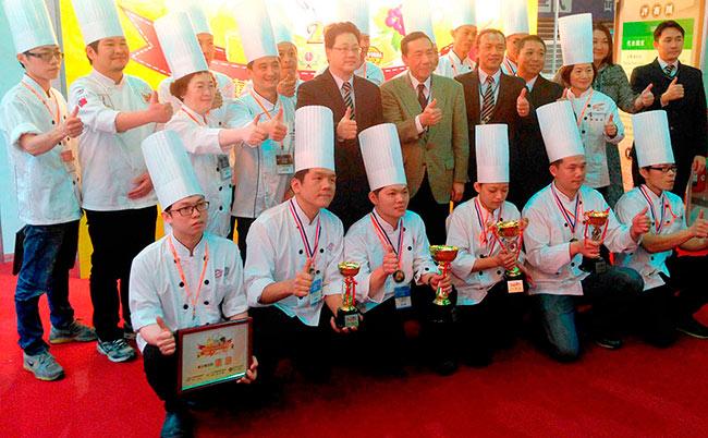 Winners of UIBC Junior World Pastry Championship