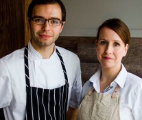 Patrice Demers and his wife