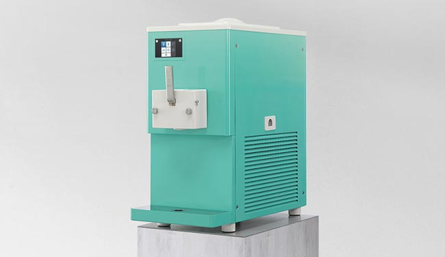SC 150 GR, the new ultra-compact machine for gelato and frozen yogurt