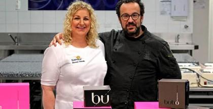 Carles Mampel and Kirsten Tibballs