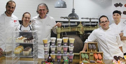 Chartier's masterclass in Jean-Marie Auboine Chocolates
