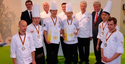 "Award Ceremony Iba UIBC CUP ""Confectioners"" 2012"