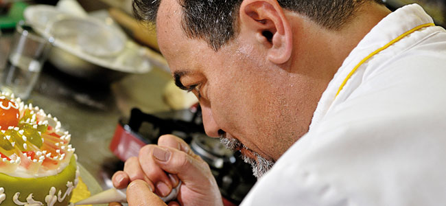 Biagio Settepani. The soul of New York's pastry