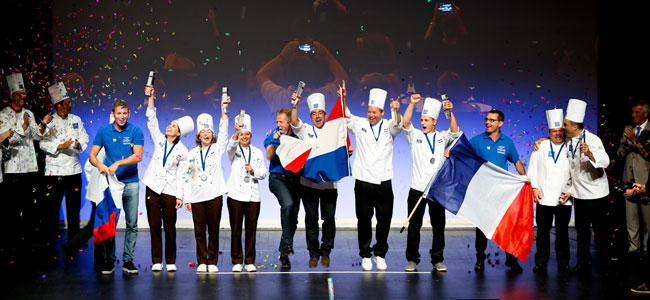 The Netherlands, Russia and France, on the podium of the Coupe Louis Lesaffre