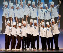 The Netherlands, France and Russia, winners Coupe Louis Lessafre