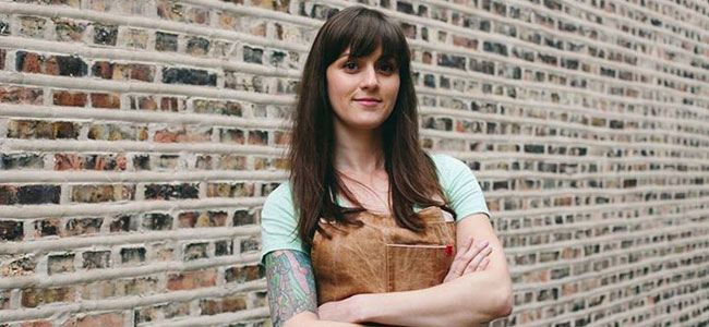 Amanda Rockman, new ambassador for Cacao Barry USA