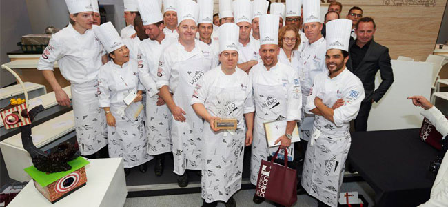 Florian Poirot wins the UK Pastry Open