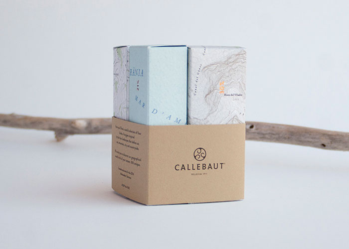 Callebaut's packaging