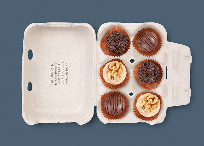 Eat Chocolate's packaging
