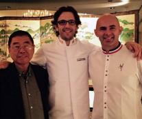 Takashi Ochiai, Jordi Bordas and Angelo Musa