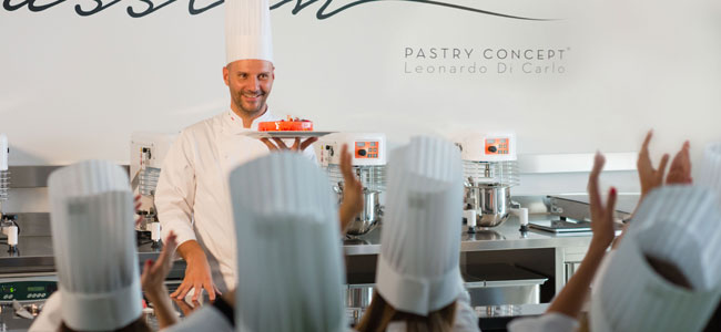 Pastry Concept: Leonardo di Carlo's new laboratory and classroom