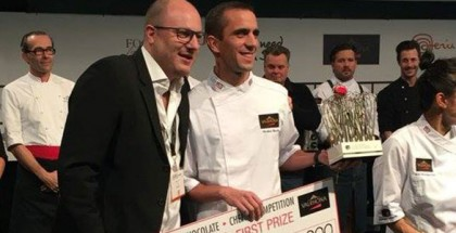 Winner Valrhona C3 Competition