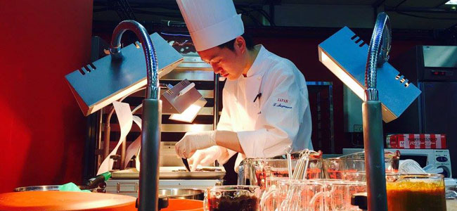 Sugawara, the Japanese competitor, wins Top Patissier in Asia