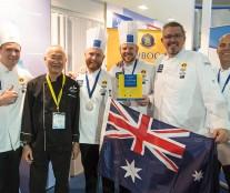 Australia team Louis Lesaffre