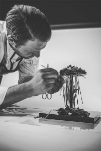 Bart de Gans, executive pastry chef Dobla