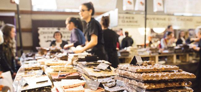 Salon du Chocolat 2015, a success on and off line