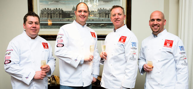 The UK team that will compete in the Coupe du Monde de la Pâtisserie is confirmed
