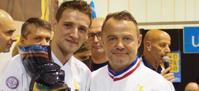 Yoann Laval wins the Trophée Pascal Caffet