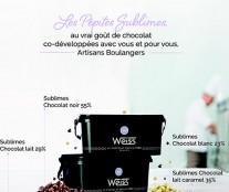 les sublimes chocolate weiss