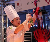Aki Tanimura, second Pastry Queen 2016