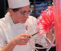 Marlène Bachellerie, third place Pastry Queen 2016