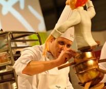 Markus Kunz, best sugar piece. European Pastry Cup