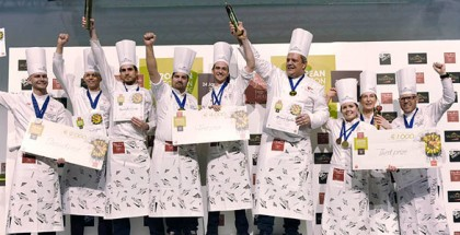 podium European Pasty Cup